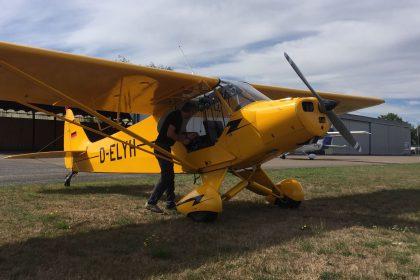 Piper PA18 - D-ELYH